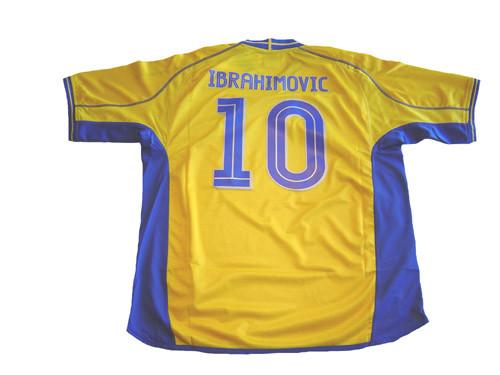 UMBRO SWEDEN 2004 HOME IBRAHIMOVIC JERSEY
