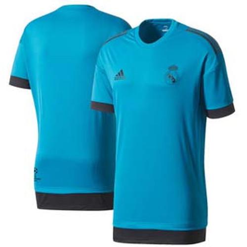 Adidas Real Madrid  2018 Euro Training Jersey – Teal