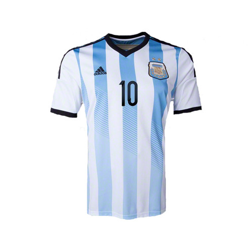 ADIDAS ARGENTINA 2014 AUTHENTIC HOME `MESSI` JERSEY