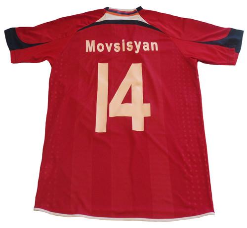HUMMELS ARMENIA 2011 `MOVSISYAN` HOME JERSEY