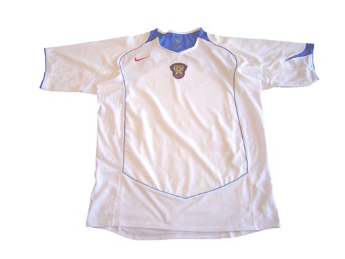 NIKE RUSSIA 2004 AWAY WHITE JERSEY