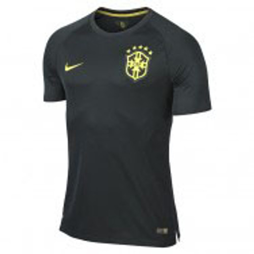NIKE BRAZIL 2014 AUTHENTIC GREEN 3RD JERSEY