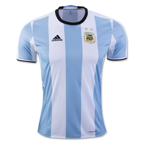 ADIDAS ARGENTINA 2016 HOME BOYS JERSEY