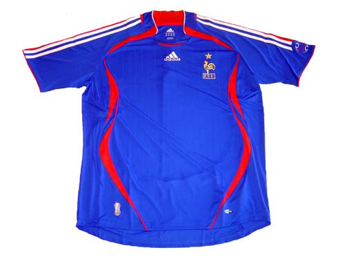 ADIDAS FRANCE 2006 HOME JERSEY