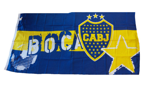 BOCA JUNIORS BLUE/YELLOW FLAG