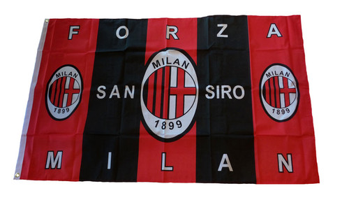 AC MILAN `FORZA MILAN` FLAG