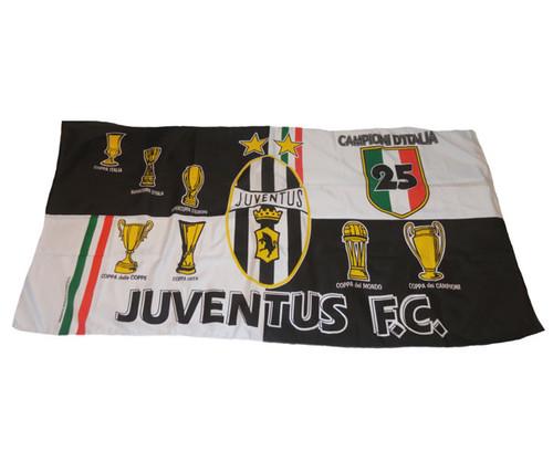 JUVENTUS CAMPIONI DITALIA 25 FLAG
