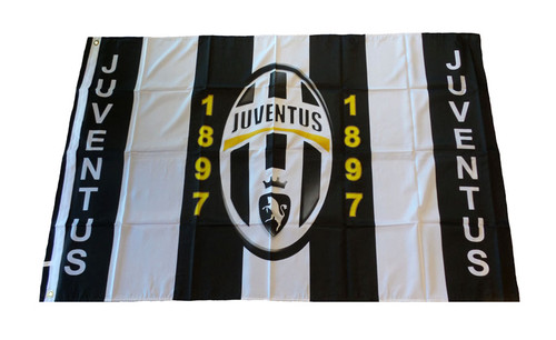 JUVENTUS BLACK/WHITE FLAG