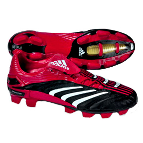 ADIDAS  P ABSOLUTE TRX FG BLACK/RED  firm ground soccer shoes
