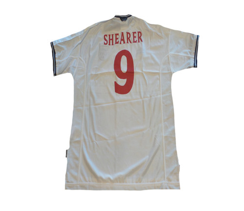 UMBRO ENGLAND 2000 HOME `SHEARER` JERSEY