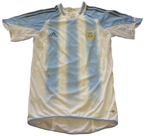 ADIDAS ARGENTINA 2004 HOME JERSEY