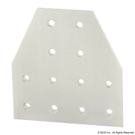 80/20 4325 12 Hole - Tee Flat Plate | CPI Automation Ltd.