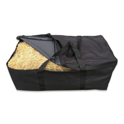 Hay Bale Bag Carry And Storage Bag - Front View