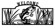 Bass Welcome Sign