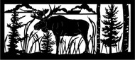 Moose Standing Railing