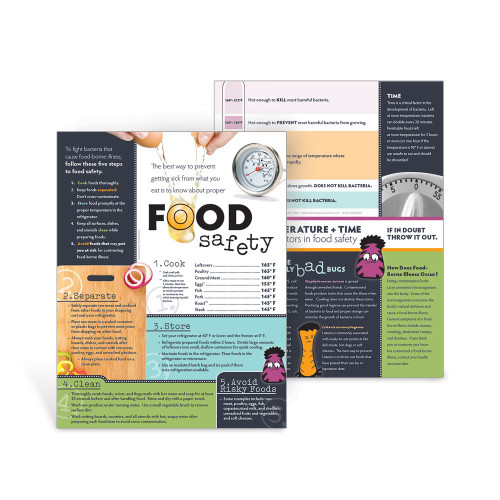 Food Safety Spanish Handouts (50 Pack)