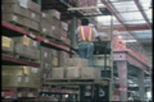 Material Handling Order Selector (Safety Video)