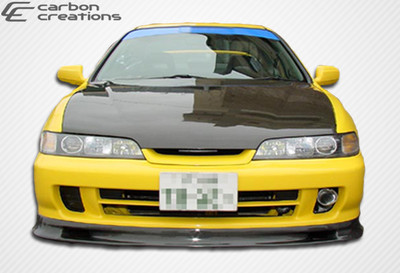 Acura Integra Spoon Style Carbon Fiber Creations Front Bumper Lip Body Kit 1994-2001