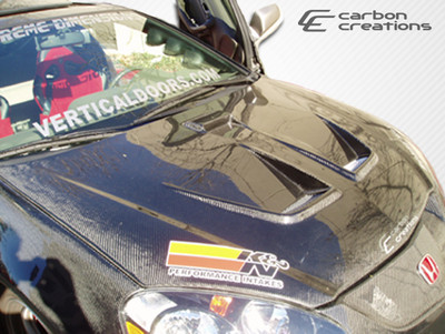 Acura RSX Type M Carbon Fiber Creations Body Kit- Hood 2002-2006