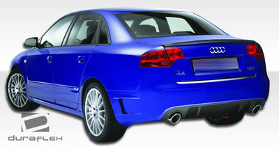 Audi A4 4DR DTM Duraflex Rear Body Kit Bumper 2006-2008