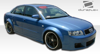 Audi A4 4DR R-1 Duraflex Side Skirts Body Kit 2002-2008