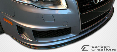 Audi A4 DTM Carbon Fiber Creations Front Bumper Lip Body Kit 2006-2008