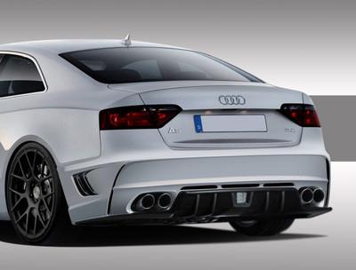 Audi A5 Eros Version 1 Duraflex Rear Body Kit Bumper 2008-2015
