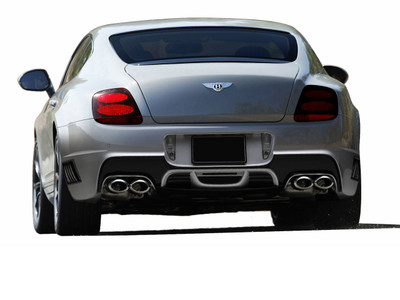 Bentley Continental AF-1 Aero Function Rear Body Kit Bumper 2003-2010