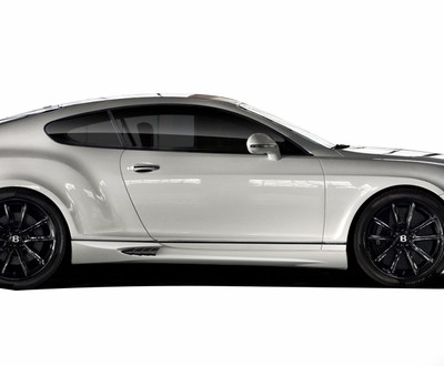 Bentley Continental AF-1 Aero Function Side Skirts Body Kit 2003-2010