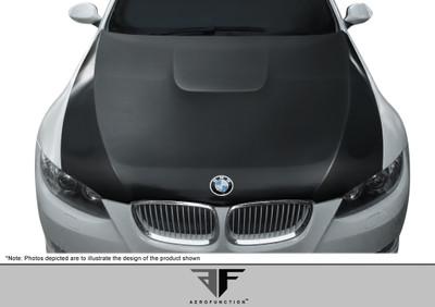 BMW 3 Series 2DR AF-2 Aero Function (CFP) Body Kit- Hood 2007-2010