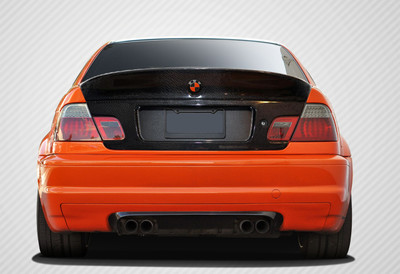 BMW 3 Series 2DR M-Tech Carbon Fiber Creations Body Kit-Trunk/Hatch 1999-2006