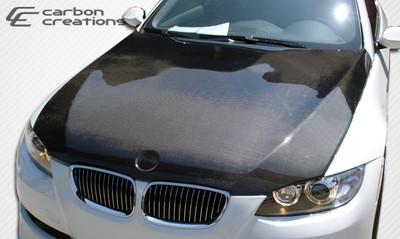 BMW 3 Series 2DR OEM Carbon Fiber Creations Body Kit- Hood 2007-2010