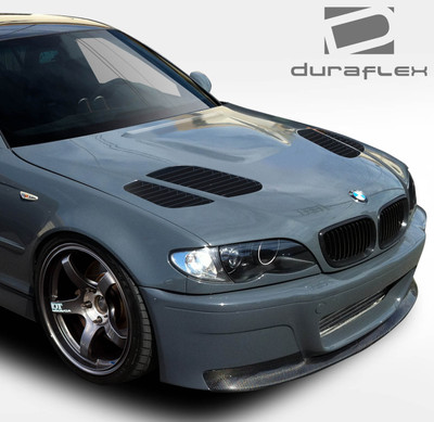 BMW 3 Series 4DR GTR Duraflex Body Kit- Hood 1999-2001
