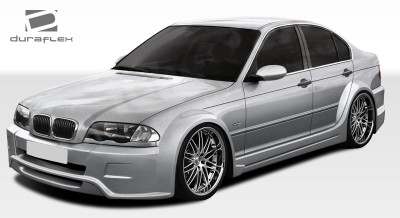 BMW 3 Series 4DR I-Design Duraflex Full Wide Body Kit 1999-2005