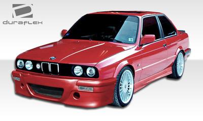 BMW 3 Series CSL Look Duraflex Side Skirts Body Kit 1984-1991