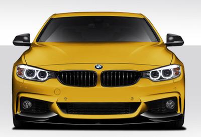 BMW 4 Series M Performance Look Duraflex Front Bumper Lip Body Kit 2014-2015