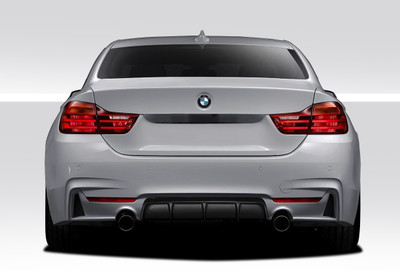 BMW 4 Series M Performance Look Duraflex Rear Diffuser 2014-2015
