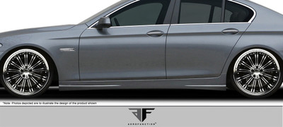 BMW 5 Series 4DR AF-3 Aero Function Side Skirts Body Kit 2011-2015