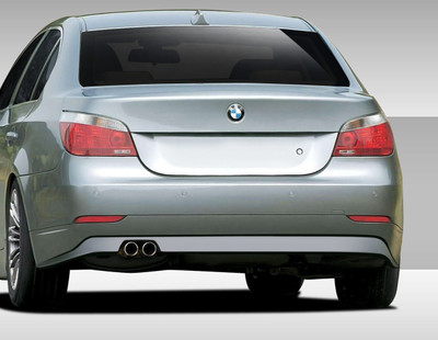 BMW 5 Series 4DR Eros Version 1 Duraflex Rear Body Kit Bumper 2004-2007
