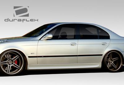 BMW 5 Series 4DR GT-S Duraflex Side Skirts Body Kit 1997-2003