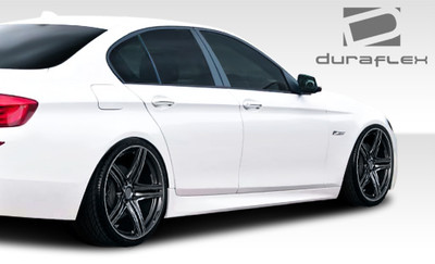BMW 5 Series 4DR M-Tech Duraflex Side Skirts Body Kit 2011-2015