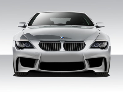 BMW 6 Series 2DR 1M Look Duraflex Front Body Kit Bumper 2004-2010