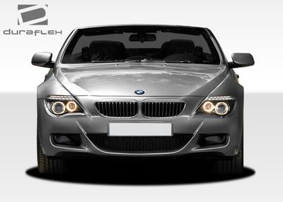 BMW 6 Series Convertible M6 Look Duraflex Front Body Kit Bumper 2004-2010