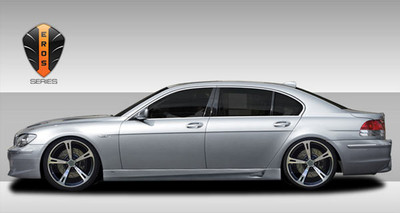 BMW 7 Series Eros Version 1 Couture Side Skirts Body Kit 2002-2008