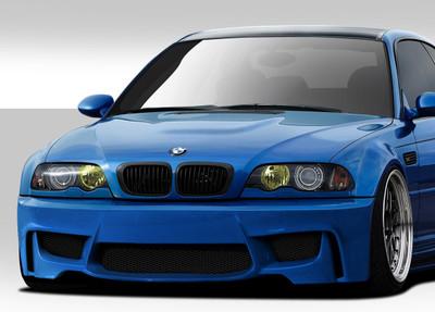 BMW M3 1M Look Duraflex Front Body Kit Bumper 2001-2006