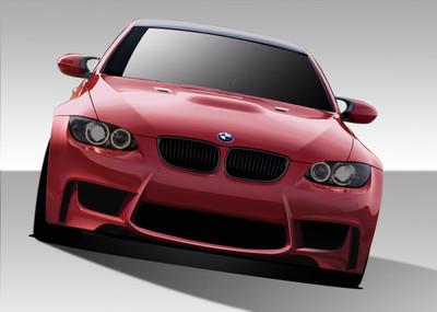 BMW M3 1M Look Duraflex Front Body Kit Bumper 2007-2013