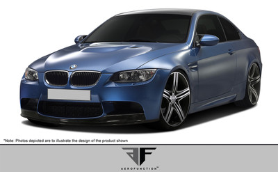 BMW M3 AF-1 Aero Function Front Bumper Lip Body Kit 2007-2013