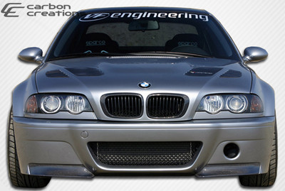 BMW M3 Convertible CSL Look Carbon Fiber Front Body Kit Bumper 2001-2006