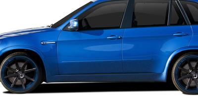 BMW X5 AF-1 Aero Function Side Skirts Body Kit 2007-2013