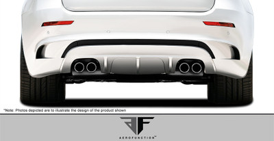 BMW X6 AF-4 Aero Function Rear Diffuser 2008-2014